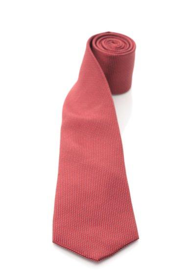 FashionDays.ro: Cravata rosie de matase cu buline argintii Vincenzo Boretti