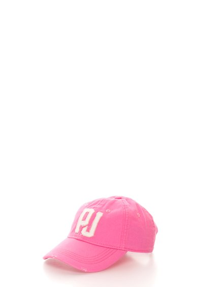 FashionDays.ro: Sapca roz cu broderie logo Mada Pepe Jeans London