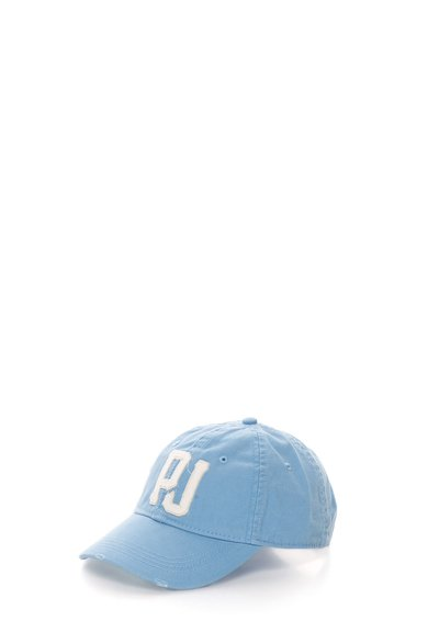 FashionDays.ro: Sapca albastru pastel cu broderie logo Mada Pepe Jeans London