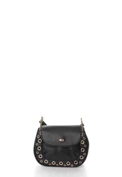 FashionDays.ro: Geanta crossbody neagra cu detalii metalice JLo by Jennifer Lopez
